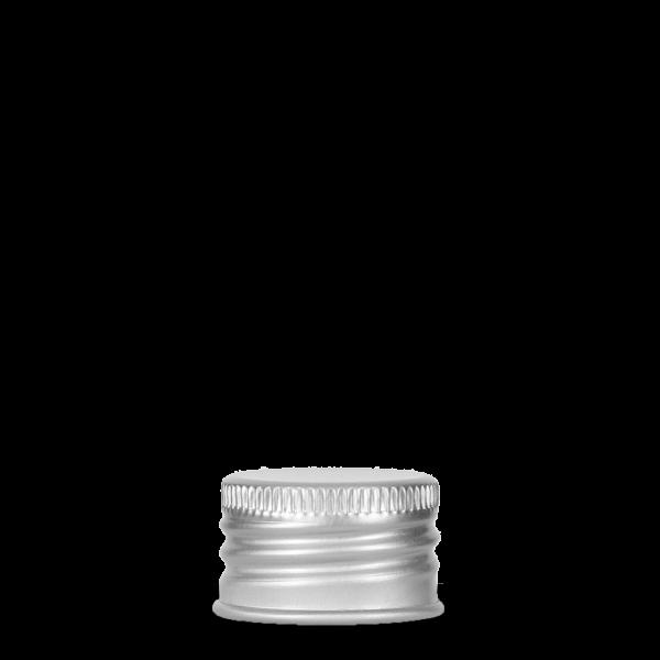 Verschlüsse für Kunststoffflaschen Aluminium silber 24/410