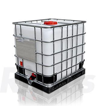 640 Liter IBC Palettentank HDPE natur eckig