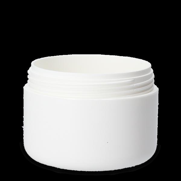75 ml Kosmetikdosen PS weiß RD 65 rund