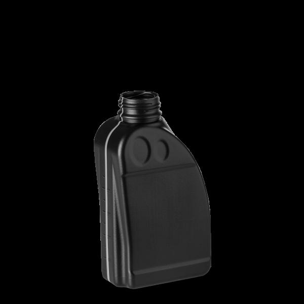 500 ml Motorölflasche - schwarz - OV 38 Gewinde