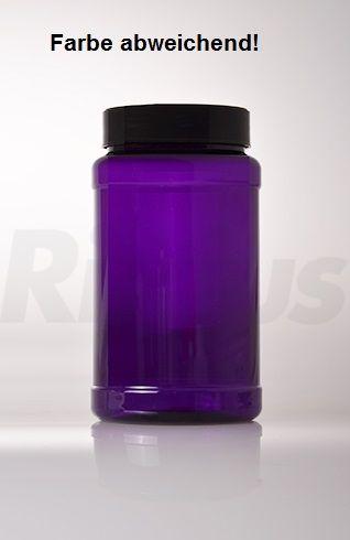 2000 ml Schraubdeckeldosen PET klar RD 100 zylindrisch