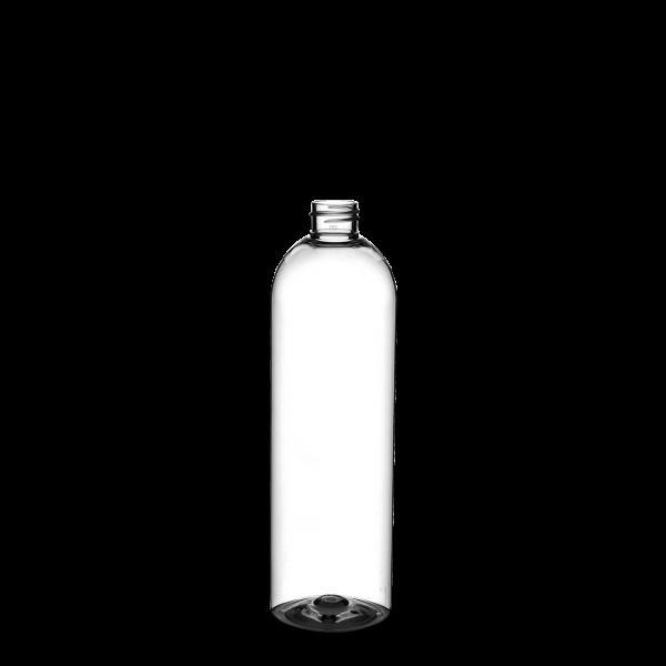 500 ml Tall Boston Round - PET - klar - 24/410