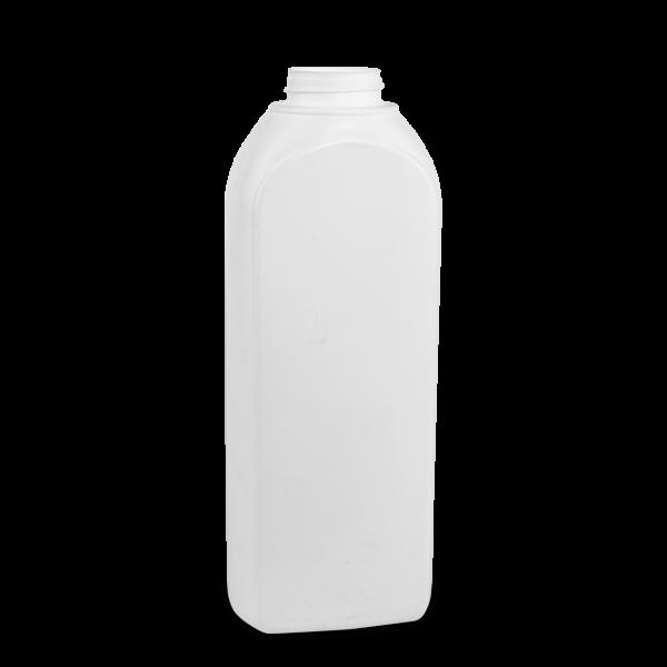 1000 ml Kosmetikflaschen HDPE weiß RD 40 Formflasche