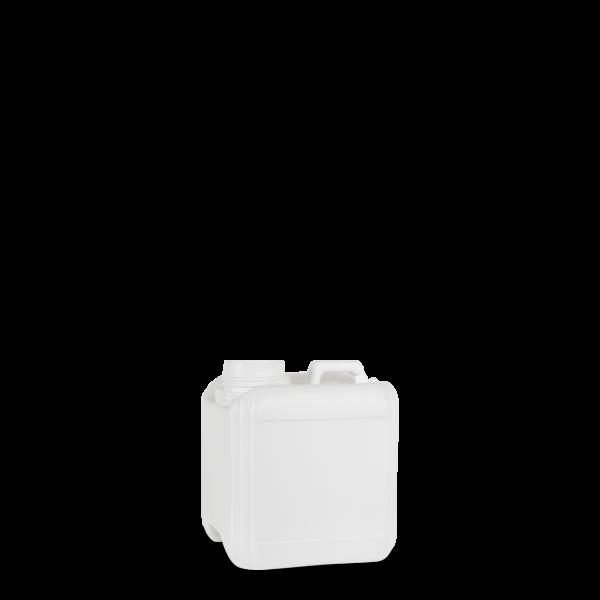 1 Liter Kunststoffkanister HDPE weiß RD 45 rechteckig