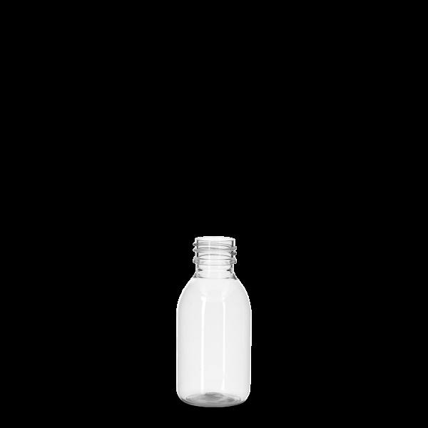 125 ml Pharma Sirup - klar - PP 28 Gewinde