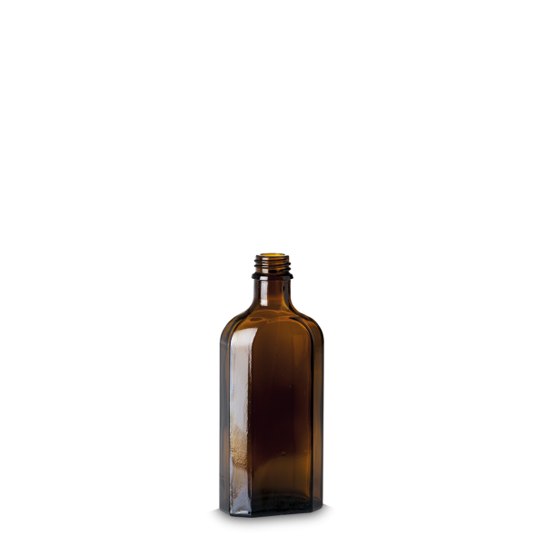 150 ml Meplatflaschen braun GL 22 meplat