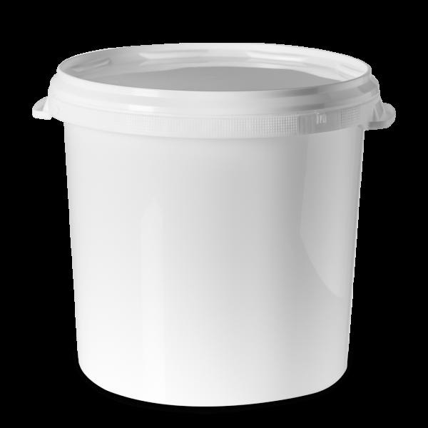 27 Liter Verpackungseimer - rund - inkl. Deckel
