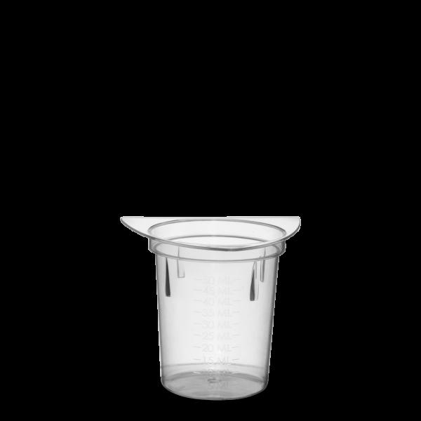 50 ml Messbecher PP natur konisch