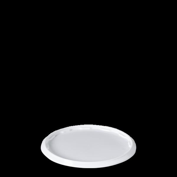 Schnappdeckel Eimer - weiß - 18L - oval