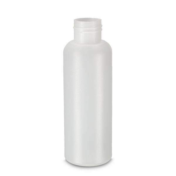 100 ml Rundflaschen HDPE natur 24/410 zylindrisch