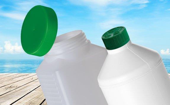 Rund- und Vierkantflaschen