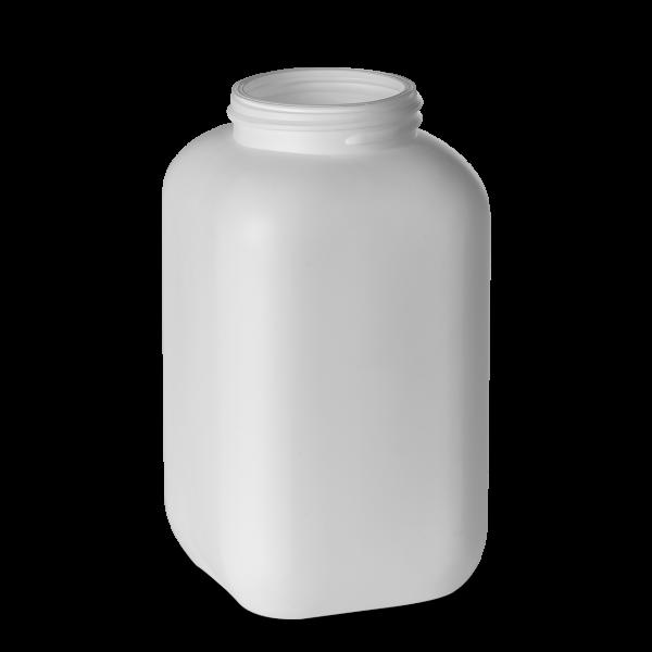 1500 ml Chemikalienflaschen HDPE weiß RD 70 eckig